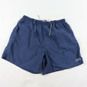 Vintage Columbia PFG Lined Outdoor Shorts Blue XL